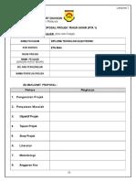 3. Lampiran 2 Format Proposal PTA