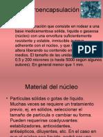 Microencapsulación