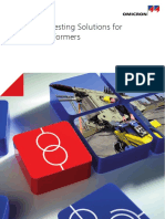 Diagnostic Testing Solutions for Power Transformer OMICRON  .pdf