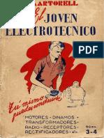 El Joven Electrotecnico - Nº 3 y 4 - Alternadores