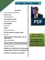 CV (Datos Personales)