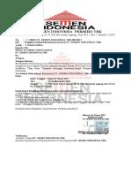 Surat Undangan Test Seleksi Calon Karywan Pt.semen Indonesia