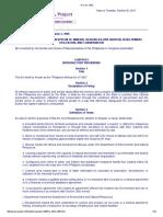 RA 7942 Philippine Mining Act