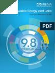 IRENA Renewable Energy Jobs - Annual Review 2017