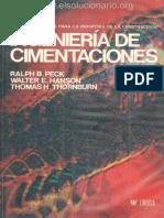 Ingeniería de Cimentaciones - Ralph B. Peck, Walter E. Hanson & Thomas H. Thornburn (2da Edición)