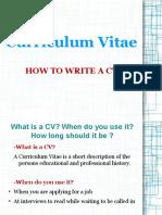Presentation- CV.odp