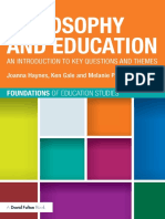 (Foundations of Education Studies) Joanna Haynes, Ken Gale, Melanie Parker-Philosophy and Education_ an Introduction to Key Questions and Themes-Routledge (2014)