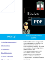 il fascismo