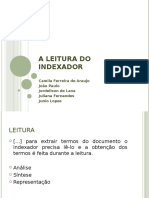 A Leitura Do Indexador