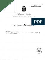 Disegno Di Legge Regionale Per Taranto