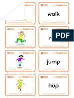 Flashcards Actions Set 1