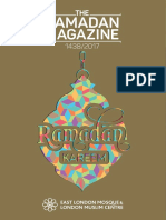 East London Mosque Ramadan Magazine 2017