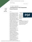 Comunicación Por TCP (Transmission Control Protocol) - Control Technology
