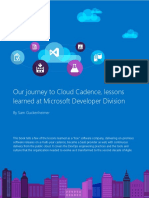 From Agile to DevOps at Microsoft Developer Division