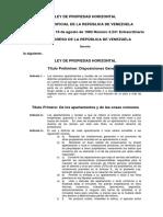 Ley Propiedad Horizontal Vewnezuela.pdf