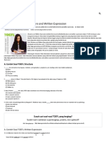 Contoh Soal TOEFL Structure and Written Expression - Cara Mudah Belajar Tes TOEFL
