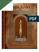 Dowsing Handouts Sample