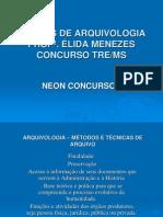 Slide Sobre Arquivologia