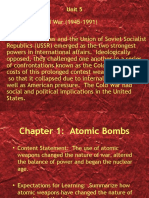 unit 5 chapter 1 atomic bombs power point