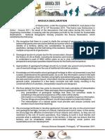 Arouca Declaration