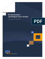 EU Bookshop PU Guide en 2013