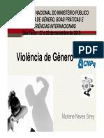 Violência de Gênero