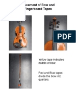 Violin and Bow Tapes