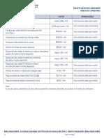 Anexo de Comisiones Tarjeta Negocios Tcm1344-622046