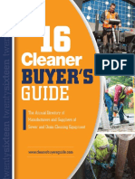 2016 Cleaner Buyers Guide