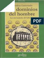 Castoriadis Cornelius - Los Dominios Del Hombre - Encrucijadas Del Laberinto