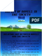 Impact of Novels in the Society