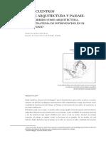 De Encuentros y Arquitectura Del Paisaje-el Recorrido Como Arquitectura