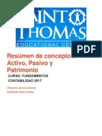 Contabilidad Básica/Resumen ActivoPasivoPatrimonio