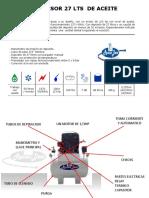Manual Compresor 27 de Aceite