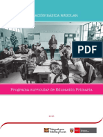 Programación Curricular Primaria 2017