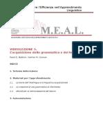 MEAL Dispensa Videolezione 5