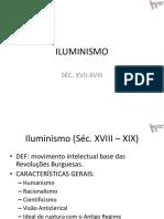 Iluminismo Slides