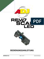 ADJ RevoScan Manual