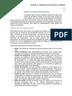 4.2. Insertar y Manipular Controles de Formulario