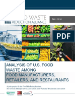 FWRA Food Waste Survey 2016 Report Final