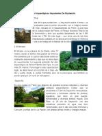 10 Sitios Arqueológicos Importantes de Guatemala