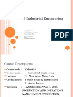 Ch 1 Introduction to Industrial Engineering