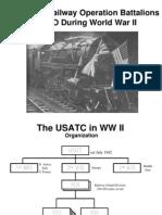 Railroads WWII ETO