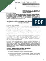 Proyecto de Ley Nº 972/2016-CR