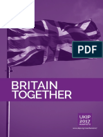 2017 UKIP General Election Manifesto to End Terrorism and Promote Liberty