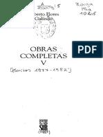Alberto Flores Galindo Obras Completas