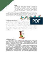 EDUCACIÓN FÍSICA. CARRERA DE VELOCIDAD