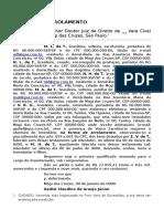 Modelo de Ação de Arrolamento - Novo CPC