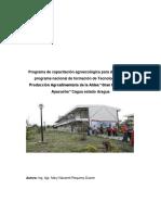 Programa Capacitacion Agroecologia