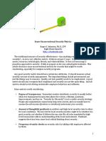 Unconventional Security Metrics & Marginal Analysis
